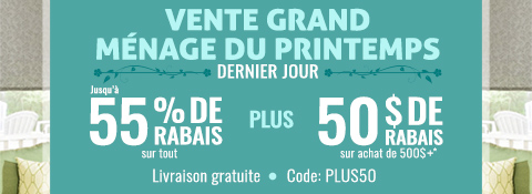Vente courante chez Stores Selects Canada