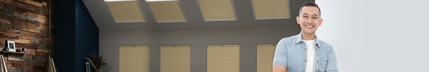 See why our skylight shades are rated 4.7/5 by hundreds of customers