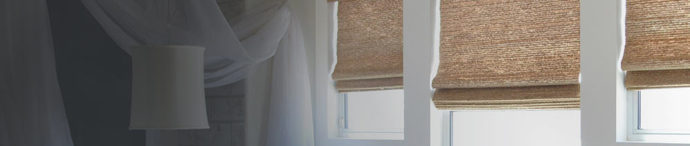 Bamboo Blinds & Woven Wood Shades are a designer favourite and give any room in your home a natural and exotic look.
