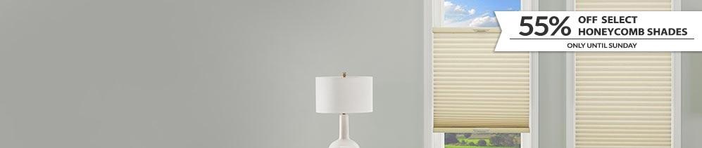 Honeycomb Shades header image