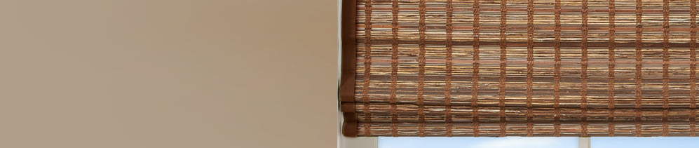 Bamboo Woven Wood Shades header image