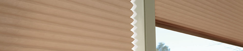 Pleated Shades Header Image