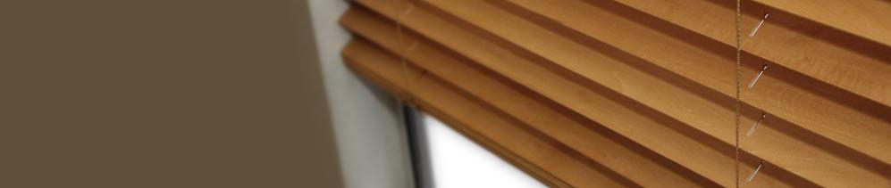 Wood Blinds header image